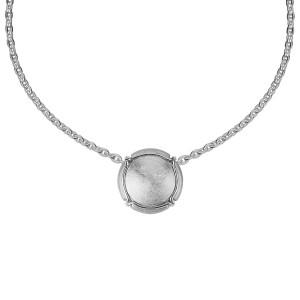 Champ ! Capsule pendant, white-rhodium-plated silver, muselet, white rhodium-plated silver,