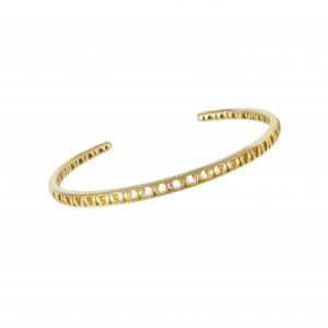 Ma Cousine Tonkinoise, rush bracelet, openwork, yellow gold,