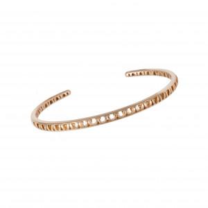 Ma Cousine Tonkinoise, rush bracelet, openwork, rose gold,
