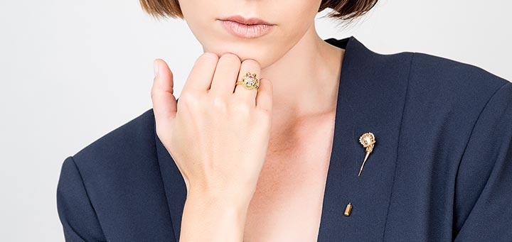Princesse Tipois bijoux femme or